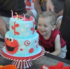 Rene Takes the Cake: Carnival Elmo Birthday Party
