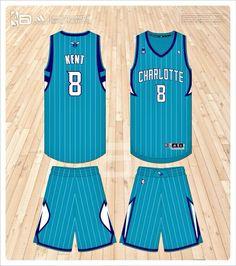 912691119833 Charlotte Hornets away concept Charlotte Hornets