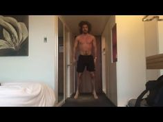 20 Minute Hotel HIIT Workout | The Body Coach - YouTube
