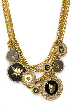 Charms Statement Necklace