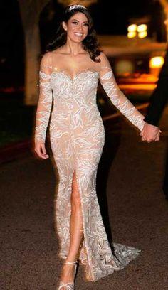 Nicole Phelps vestido de noiva, Casamento