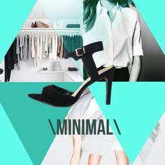 Quem disse que o simples não é lindo? O estilo minimal é prova disso! O que acham? #love #instagood #happy #beautifuls #girl #smile #fashion #summe r#moda #estilo #instamood #instalove #best #sapatos #sapato