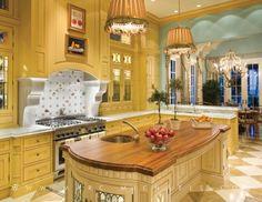 Palm Beach Style Kitchen