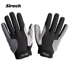 Sireck Spring Autumn Cycling Gloves Long Finger Touch Screen Motocycle MTB Road Bike Bicycle Riding Mittens Gants Velo Men Women