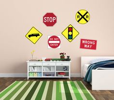 Road Sign Wall Decor Extraordinary Road Sign Wall Decal  Vinyl Sticker  Car Sticker  Die Cut Design Inspiration