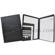 Steigens give stylish conference folder with smooth leather look finish for #CorporateGifts #Promotional Gifts.