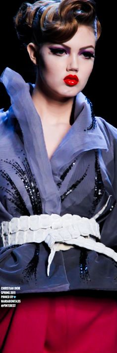 Christian Dior Spring 2011 Couture Details