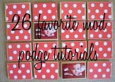 Make Liam his own personalized blocks with familys faces on it! 26 DIY projects with mod podge. Pair with my other pin of DIY mod podge for a perfect project! Cute Crafts, Crafts To Make, Crafts For Kids, Diy Crafts, Mod Podge Crafts, Crafty Craft, Crafting, Matching Games, In Kindergarten