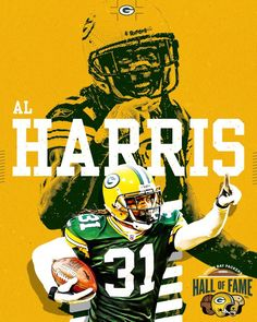 Congratulations to Al Harris on being inducted into the Green Bay Packers Hall of Fame! #PackersHOF | #GoPackGo Football Hall Of Fame, Mike Mccarthy, Charles Woodson, Defensive Back, Athletic Trainer, Go Pack Go, Free Agent, National Football League