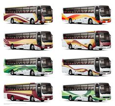 + Another Top 8 – Bus Livery Design Design Scheme Luxury Bus, New Bus, Bus Coach, Busses, Most Favorite, One Design, Coaching, Bataan, Architectural Presentation