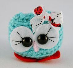 Owl Crochet amigurumi - Ellie-Mae the Cutie - comes in a box crochet