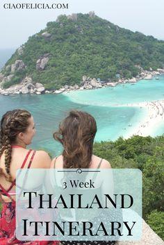 3 Week Thailand Itinerary Ciaofelicia