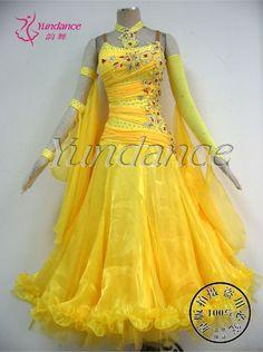b yellowtail fashion   Fashion-yellow-font-b-Ballroom-b-font-font-b-Dance-b-font-font-b-Dress ...