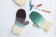 How to Dip Dye Crochet or Knit Items With Food Coloring