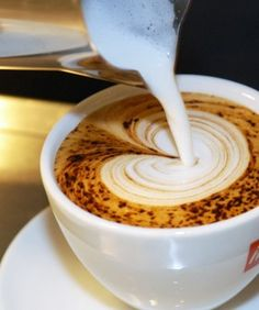 learn how to make coffee art