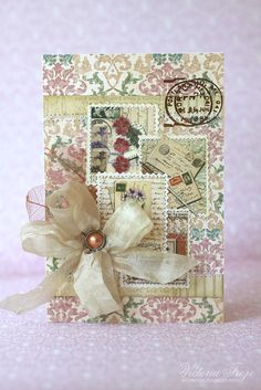 My Creative Space: Vintage card