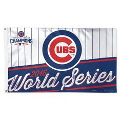 Chicago Cubs WinCraft 2016 National League Champions 3' x 5' Deluxe Flag