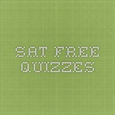 SAT Prep - Free Quizzes