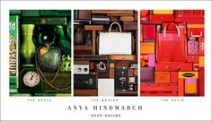 Anya Hindmarch assemblages