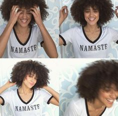 Nathalie Emmanuel Natural Curls, Natural Hair Styles, Curly Hair Styles, Black Actresses, English Actresses, Nathalie Emmanuel, Black Is Beautiful, Beautiful Women, Celebs