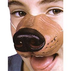 Dog Nose with Elastic Adult Halloween Accessory, Size: Standard-Accesory
