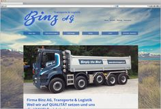 Website Binz AG  Für das traditionell geführte Familienunternehmen haben wir eine moderne und frische Website kreiert.  Die Website wurde den neusten technischen Standards angepasst. Verschiedene Bildergalerien, eine Standortkarte und News der Firma sind nur einige Dinge, welche auf der Website zu finden sind.   http://www.binz-transport.ch/Startseite.2.0.html