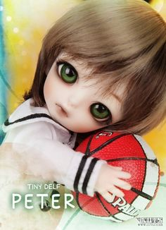 55.00$  Watch now - http://alic9k.worldwells.pw/go.php?t=32221732848 - OUENEIFS Free shipping luts tiny delf peter 1/8 bjd sd model reborn baby girls boys dolls eyes High Quality toys shop make up  55.00$
