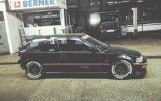 "radracerblog: ""Honda Civic EF Hatchback Kanjo """
