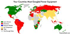 - Most Googled outdoor power tool by country.More web search maps...