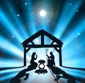 Christian Christmas Nativity Scene Of Baby Jesus In The Manger.. Royalty Free Cliparts, Vectors, And Stock Illustration. Image 12346898.