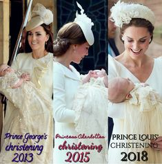 The Cambridge Children's Christenings Kate Middleton, Lady Diana, Princess Charlotte, Princess Diana, Royal Family Pictures, Prinz Harry, Princess Pictures, Prince William And Catherine, British Royal Families