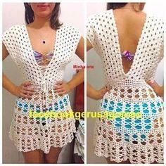 Crochet Box Stitch, Crochet Bra, Crochet Shorts, Crochet Woman, Crochet Blouse, Filet Crochet, Cute Crochet, Crochet Clothes, Diy Clothing