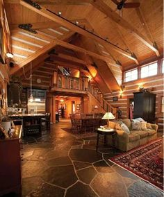 I would love to have a cabin like this!