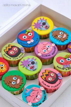 Moshi monsters cupcakes