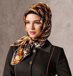 Armine Silk Hijab Fall 2013 - Hazan