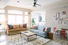 Kid Friendly Living Room by Design Improvised | Hayneedle Blog