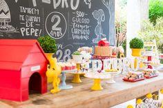 Festa Infantil | Tema Snoopy | Vestida de Mãe | Blog sobre Gravidez, Maternidade e Bebês por Fernanda Floret