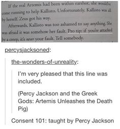 I could never get into the Percy Jackson series but I really appreciate this! Percy Jackson Memes, Percy Jackson Books, Percy Jackson Fandom, Solangelo, Percabeth, Blood Of Olympus, Percy And Annabeth, Trials Of Apollo, Rick Riordan Books