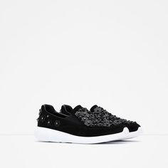 Image 2 of FLORAL SNEAKERS from Zara