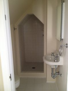 Bathroom in one of the Upstairs Bedrooms