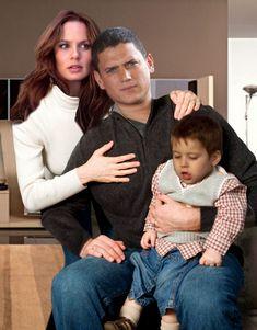 Photo of Prison Break - Family Scofield for fans of Prison Break. Family Scofield = Michael + Sara + MJ