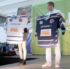HC Vítkovice Steel 2015/16 jersey Hockey Sweater, Ice Hockey, Steel, Sports, Sweaters, Tops, Hs Sports, Sweater, Sport