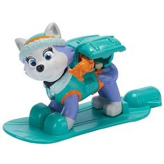 Amazon.com: Nickelodeon Paw Patrol - Everest Action Pack Pup Winter Rescues: Toys & Games