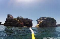 Kayak Napoli, Italy.    http://www.fourjandals.com/europe/sea-kayak-napoli-italy/