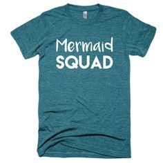 Mermaid Squad Short sleeve soft t-shirt