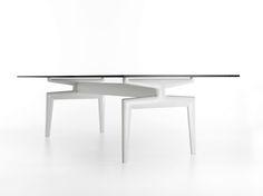 Flow Dining Table By Mdf Italia | Hub Furniture Lighting Living