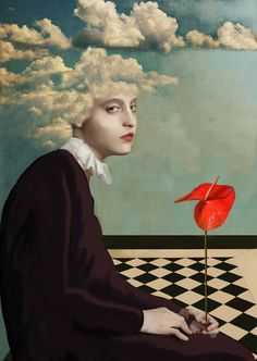 Daria Petrilli Fine Art Prints and Photography Collage Kunst, Surreal Collage, Surreal Art, Collage Art, Art And Illustration, Surealism Art, Surrealism Painting, Ap Art, Psychedelic Art
