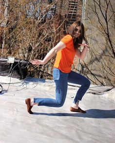 A lovely outtake from Mille, wearing head to toe @monki and having fun on her roof. Love the way that she has customized her jeans at the ankles! So fun! #monki #monkistyle #style #wearebasicly #fashion #findyourfit #styledbasicly #itbasiclyfits #basic #basics #basicaf #basicly #basiclybasicaf #backtobasics #thebasics #jeans #tees #tshirts #nyc #nycstyle #nycrooftop #wardrobebasics #clothes #clothing #closetstaple #ootd