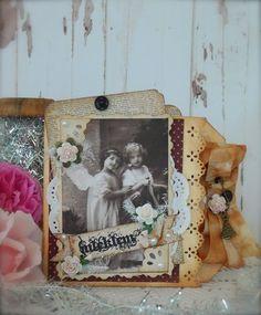 Synnøves Papirverksted: Vintage Christmas card