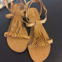 Cute fridge sandals So cute. They are just too small for me. Price is firm. Sorry no trading. Shoes Sandals